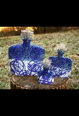 Earth & Sky Pottery Porcelain Slab Flower Vase (Lg)
