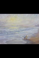 Ruthann Hewson Beach Walk (Print, Matted,  11x14, RUTH)