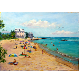 Ruthann Hewson Bathtub Beach (Giclee, Framed, 18x24, RUTH)