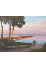 Ruthann Hewson Stuart Docks (Giclee, Framed, 22x28)
