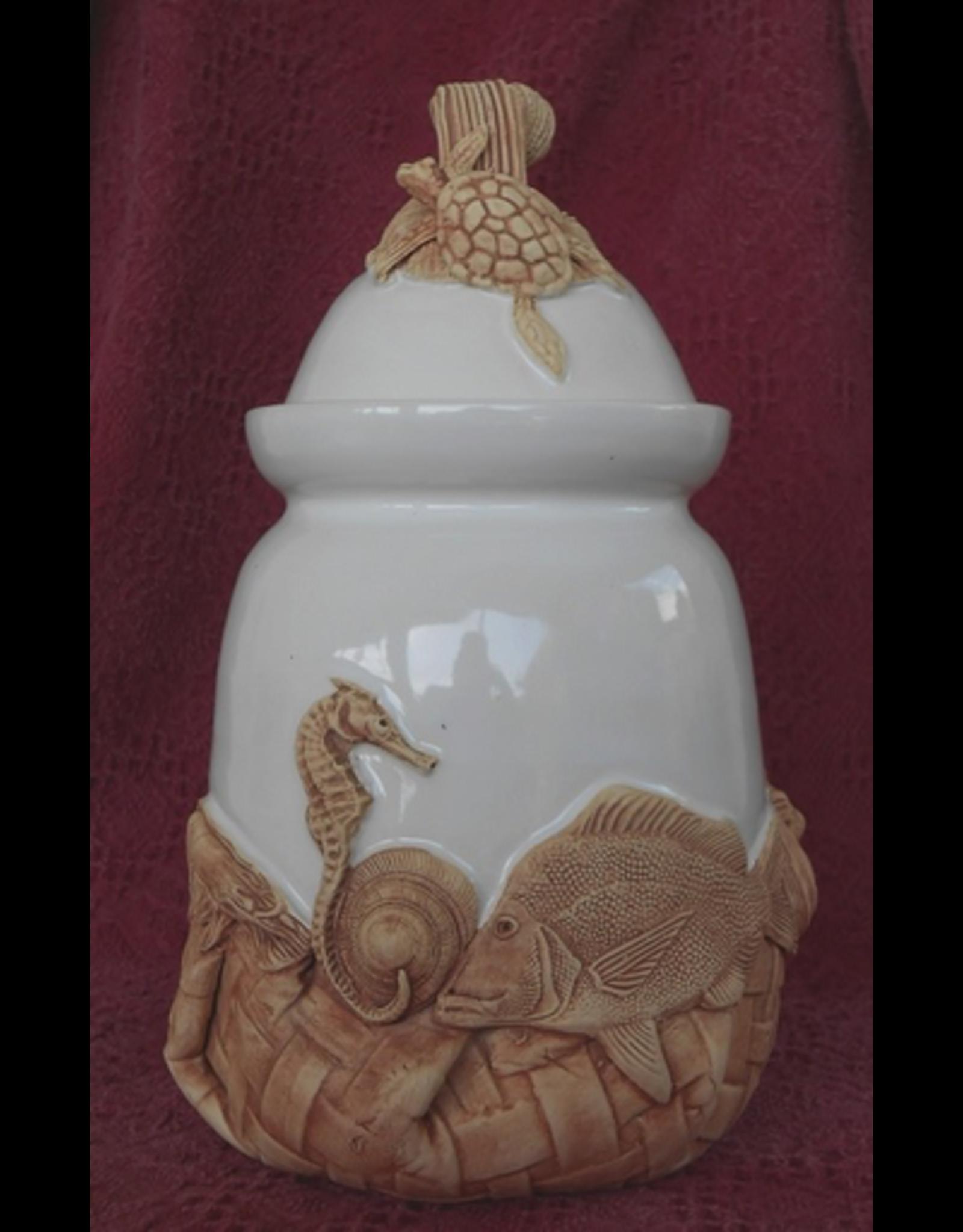 Charlestowne Porcelaine CANISTER (Lg, #46)