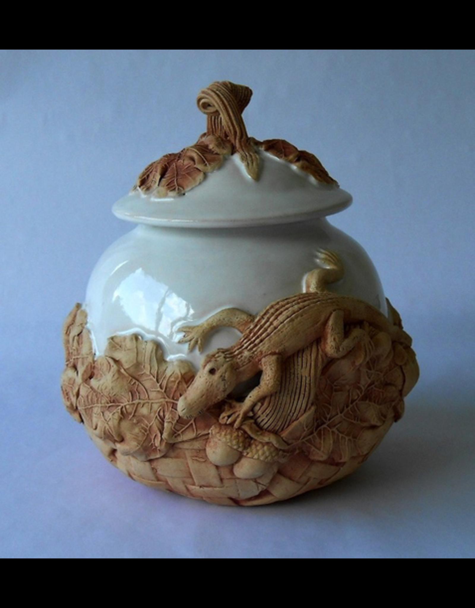 Charlestowne Porcelaine COOKIE JAR (Gator, Lg, #50L)
