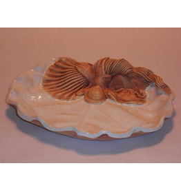 Charlestowne Porcelaine DISH (Sea Grape Leaf, #66, CHAP)