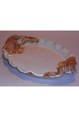 Charlestowne Porcelaine PLATTER (Beaded, Oval, Lg, #100, CHAP)