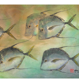 Ken Dara Gyotaku Fish Prints (Singles, Asstd., 8x10 Frame)