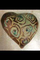 Gail Snively HEARTS (Hangable, Lg, #368, GAIS)
