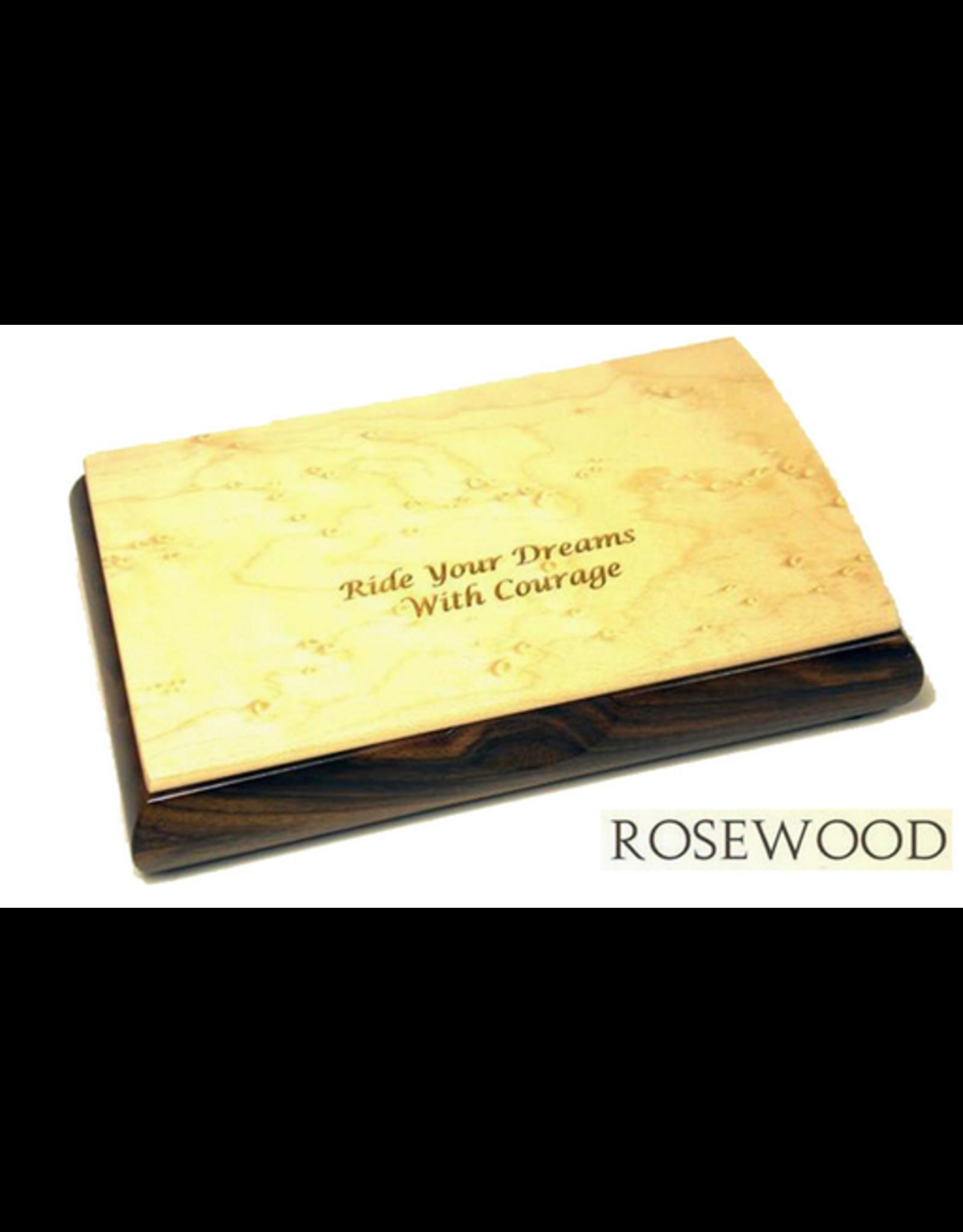 Mikutowski Woodworking POSSIBILITY WOOD BOX (Custom Engraved Sentiment)