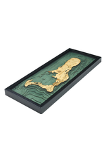 WoodCharts Cayman Island (Bathymetric 3-D Nautical WOODCHART)