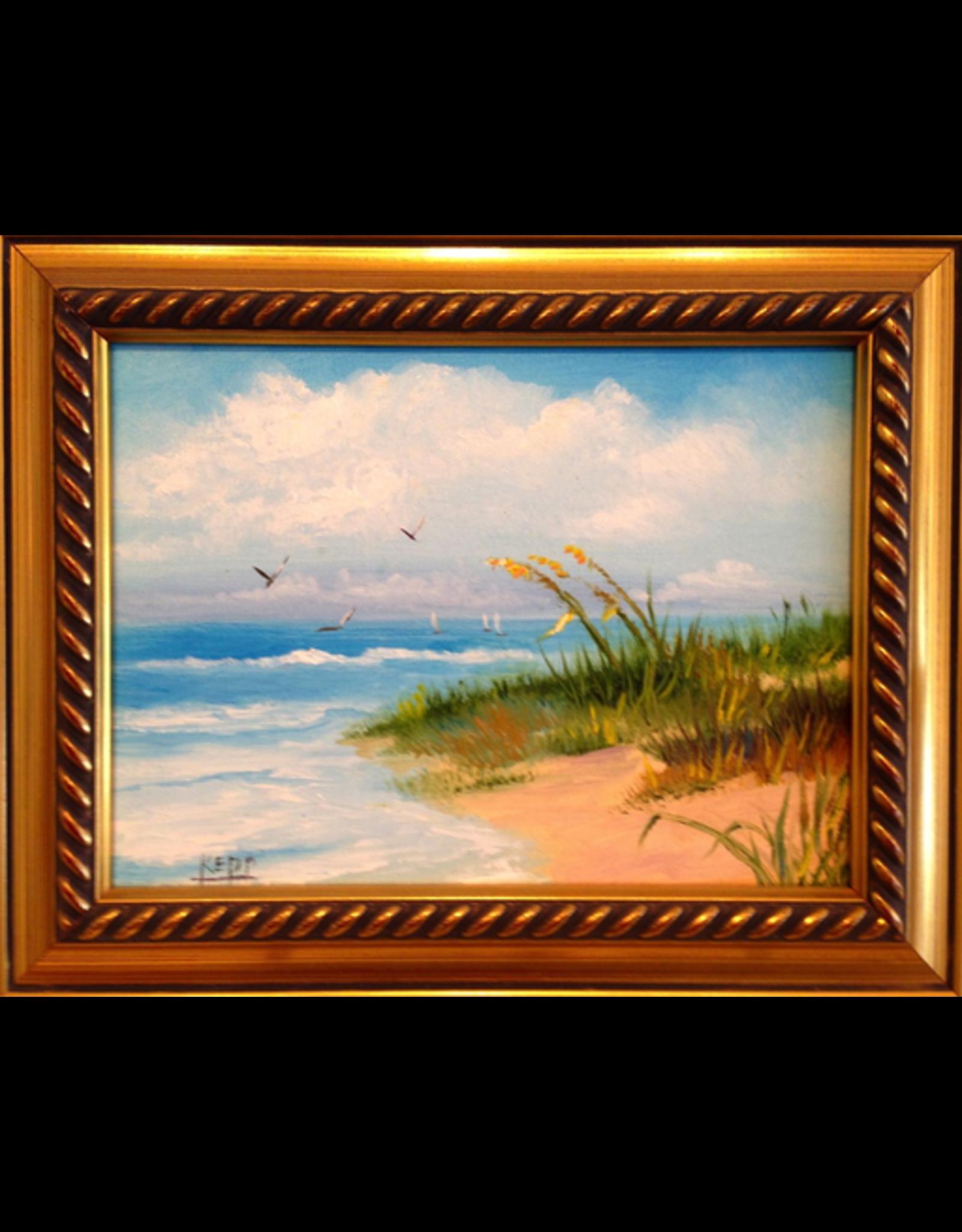 Carol Kepp Miniatures (Original Oil, Framed, Signed)