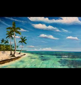 Mark Johnson Tropical Breeze (Original Oil, 30x48, MARJ)