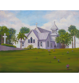 Ruthann Hewson All Saints' Episcopal Church (Print, Matted, 11x14, RUTH)