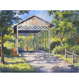 Ruthann Hewson Floridian Covered Bridge (Print, Matted, 11x14, RUTH)