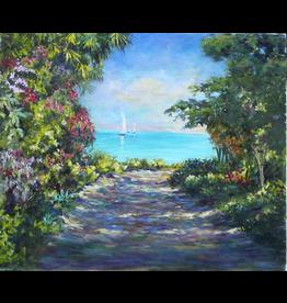 Ruthann Hewson Pathway To Florida Bay (Print, Matted,11x14, RUTH)
