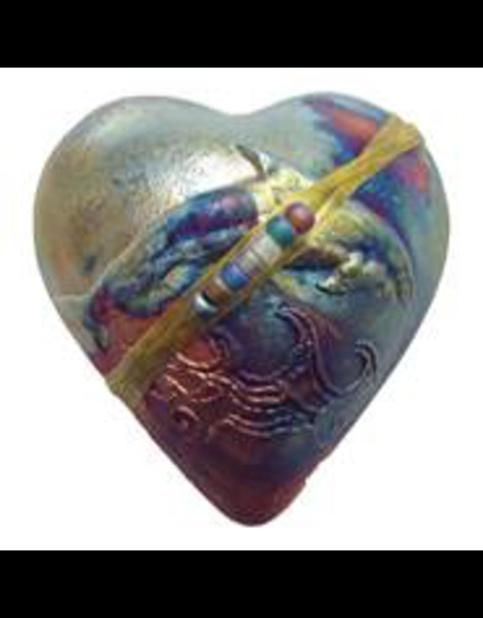 J Davis Studios DOLPHIN (HEART, innerSpirit Rattle, JDAV)