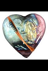 J Davis Studios FROG (HEART, innerSpirit Rattle, JDAV)