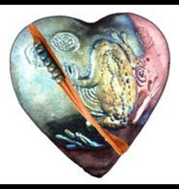 J Davis Studios FROG (Heart, innerSpirit Rattle)