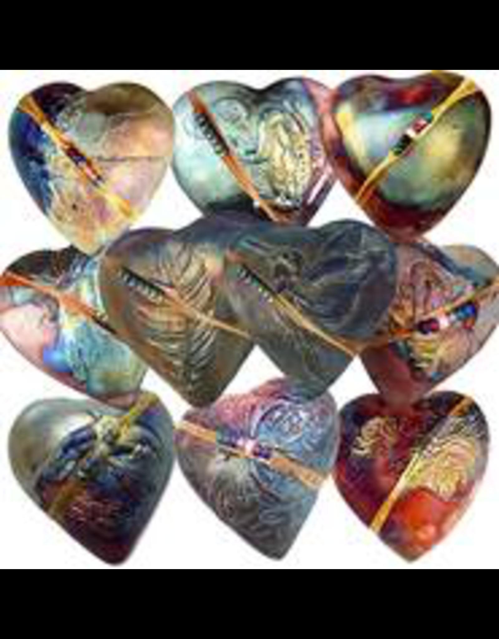 J Davis Studios BUTTERFLY (HEART, innerSpirit Rattle, JDAV)