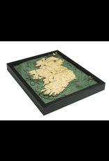 WoodCharts Ireland (Bathymetric 3-D Nautical WOODCHART)