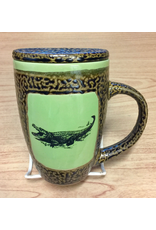 Always Azul ALLIGATOR (Mug w/Lid)