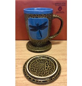 Always Azul DRAGONFLY (Mug w/Lid)