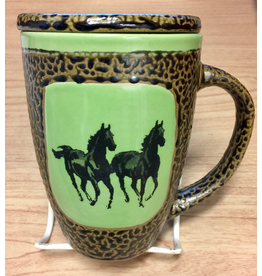 Always Azul HORSE (Double, Mug w/Lid)
