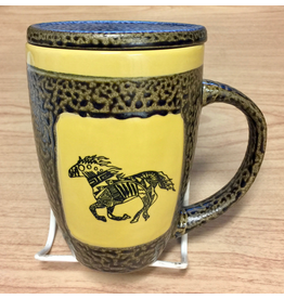 Always Azul HORSE (Single, Mug w/Lid)