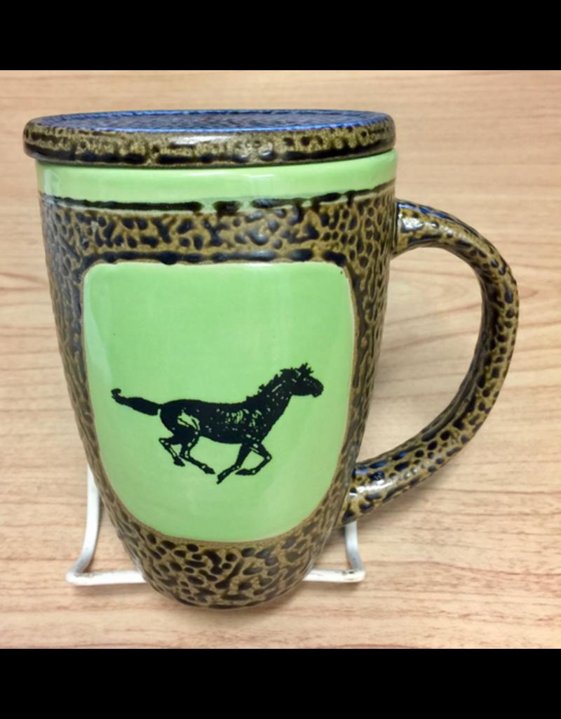 Always Azul HORSE (Single, Mug w/Lid)