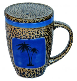 Always Azul PALM TREE (Mug w/Lid)