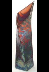 Raku Art TWISTING VASE (RAKU, #045)