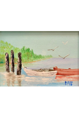 Carol Kepp Miniatures (Original Oil, Framed, Signed, CARK)