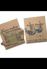 Jabebo Earrings BUMBLEBEE (RUSTY-PATCHED, JABEBO)