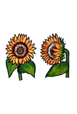 Jabebo Earrings SUNFLOWER