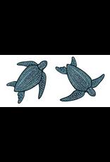 Jabebo Earrings SEA TURTLE (LEATHERBACK, JABEBO)
