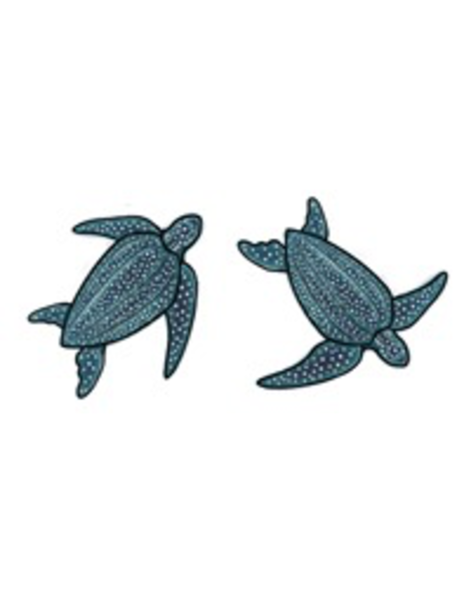 Jabebo Earrings SEA TURTLE (LEATHERBACK)