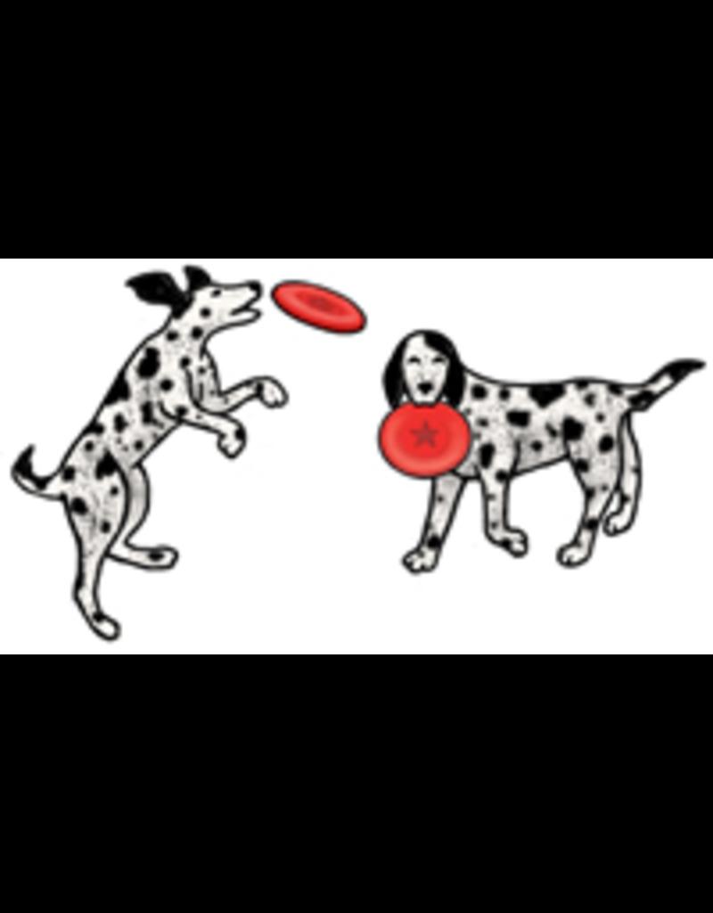 Jabebo Earrings DOG & FRISBEE