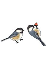 Jabebo Earrings CHICKADEE (BLACK-CAPPED)