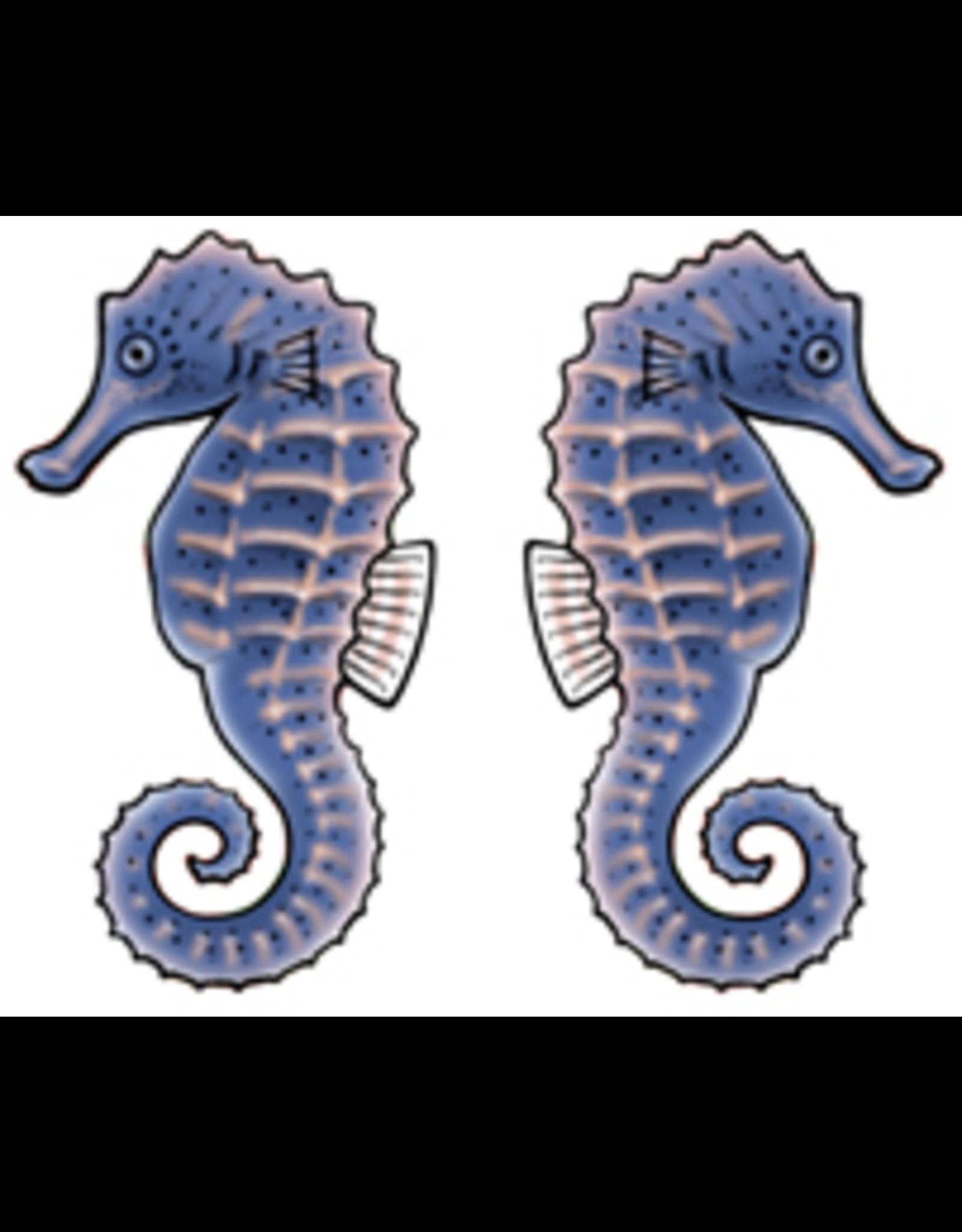 Jabebo Earrings SEA HORSE (BLUE)