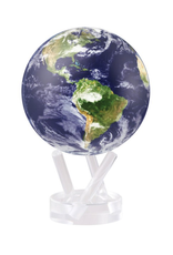 "Mova Globes EARTH with CLOUDS (4.5""D.)"