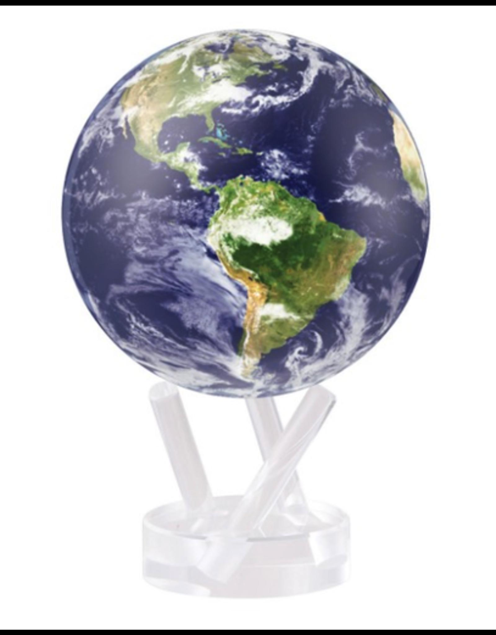 "Mova Globes EARTH WITH CLOUDS (MOVA Globe 4.5"" w/Acrylic Base)"