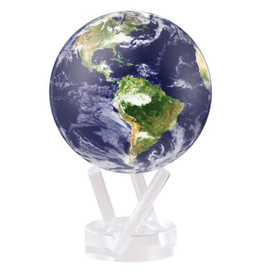 "Mova Globes EARTH WITH CLOUDS (MOVA Globe 4.5"" w/Acrylic Base)"