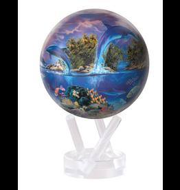 "Mova Globes SEA LIFE by ROBIN KONI (4.5""D.)"