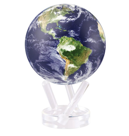 "Mova Globes EARTH WITH CLOUDS (6""D)"