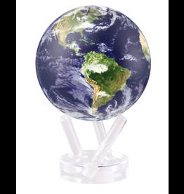 "Mova Globes EARTH WITH CLOUDS (MOVA Globe 6"" w/Acrylic Base)"