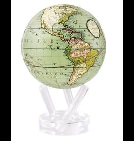 """Mova Globes CASSINI TERRESTRIAL GREEN (6""""D.)"""