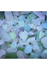 Zen Art & Design Sea Glass (Sm, 125 Pieces, Artisanal Wooden Jigsaw Puzzle)