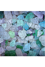Zen Art & Design Sea Glass (Sm, 125 Pieces, ZEN Wooden Jigsaw Puzzle)