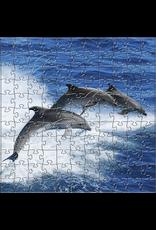 Zen Art & Design Dolphins (Sm, 126 Pieces, ZEN Wooden Jigsaw Puzzle)