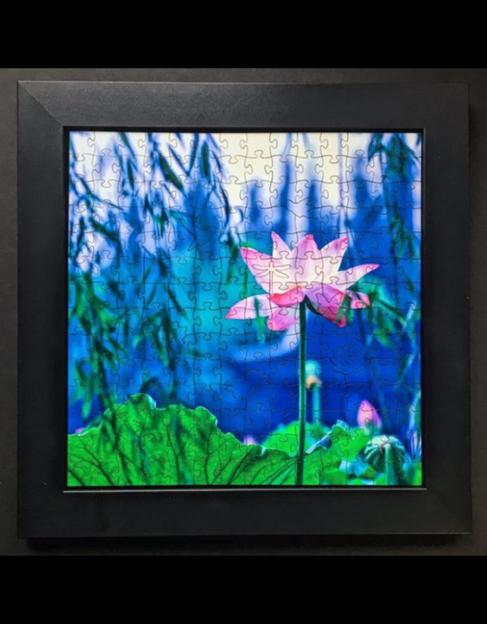 "Zen Art & Design Display Tray (Sm, Black, ZEN Puzzles sold separately, 10"" x 10"")"