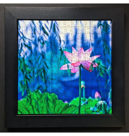 "Zen Art & Design Display Tray (Md, Black, ZEN Puzzles sold separately, 12"" x 12"")"