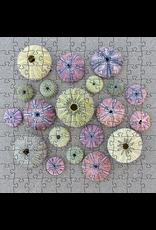 Zen Art & Design Sea Urchins (Sm, 125 Pieces, Artisanal Wooden Jigsaw Puzzle)